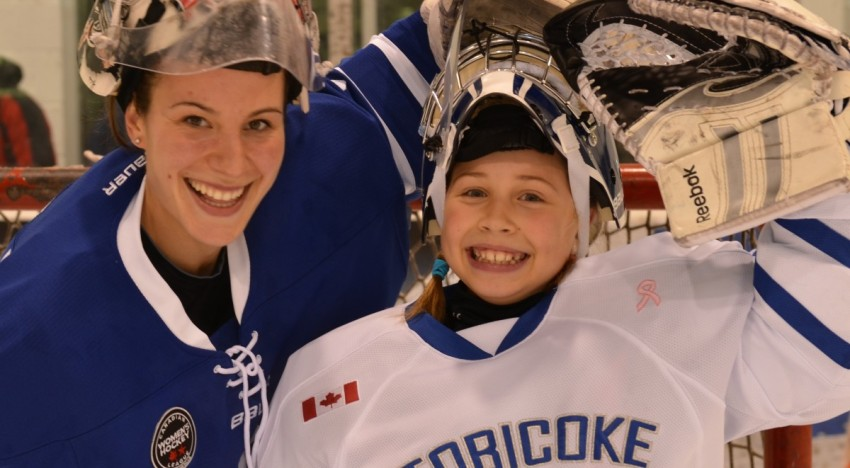 Dolphins Partner with Christina Kessler for Goalie Development