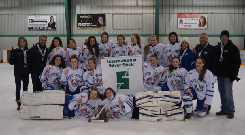 Bantam AA (99's) win Silver Stick