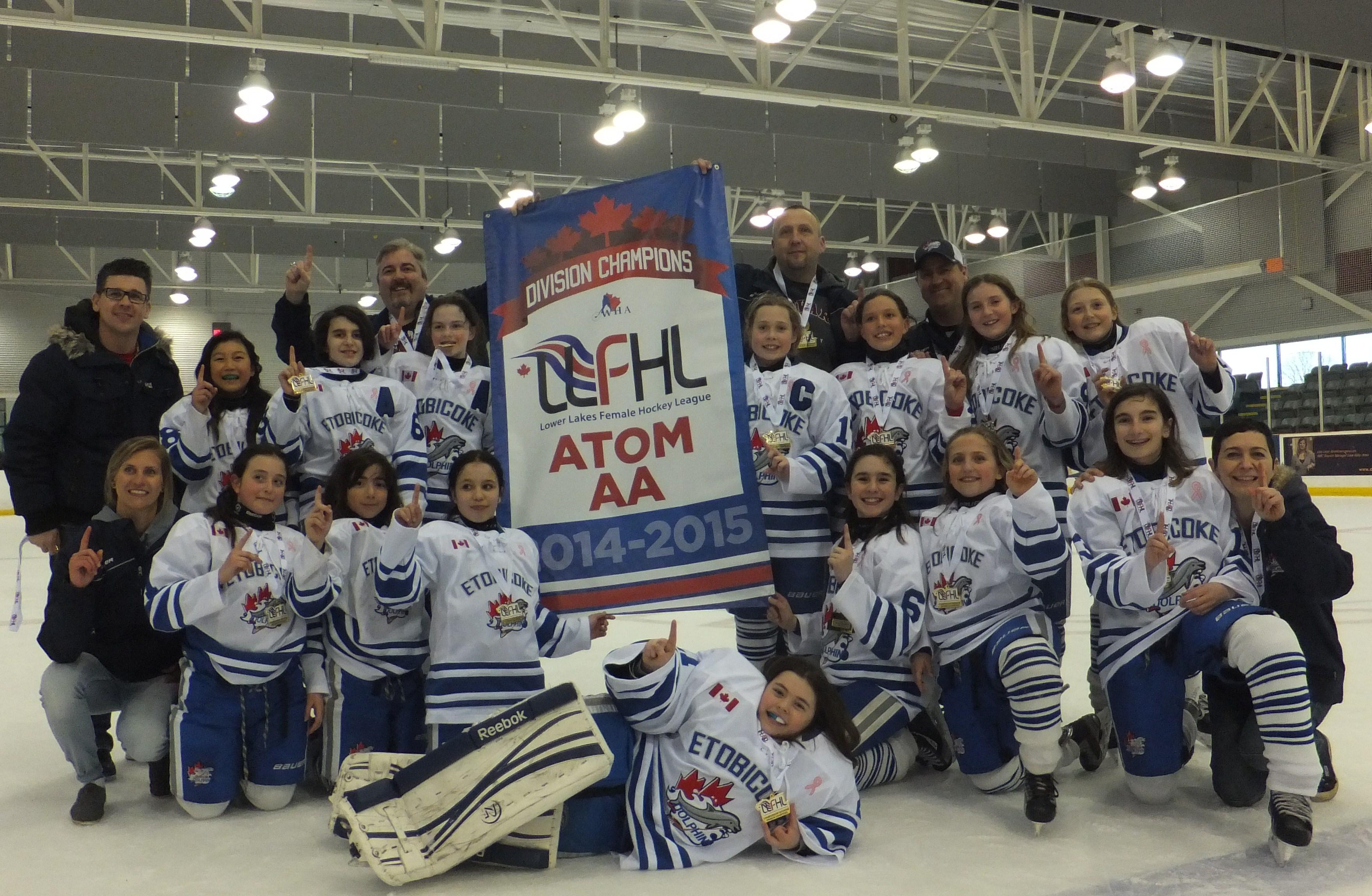 Atom AA 2015 LLFHL Champions