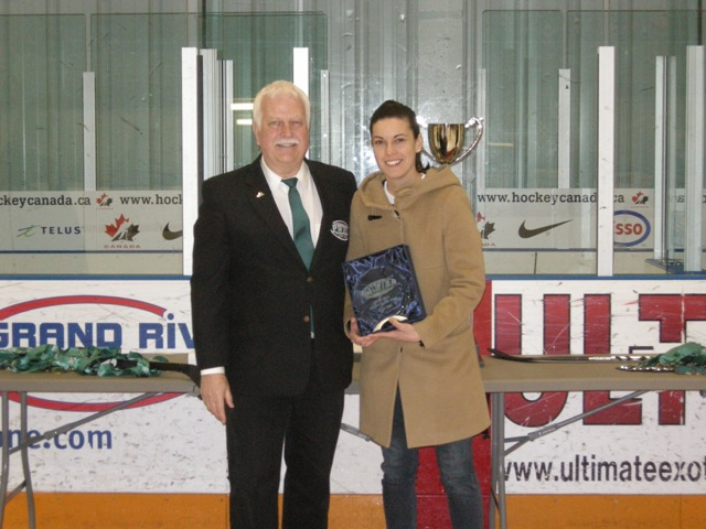 2014/2015 PWHL COACH OF THE YEAR