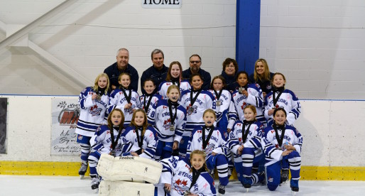 Dolphins Atom AA's take Silver in Waterloo Fall Cup!!