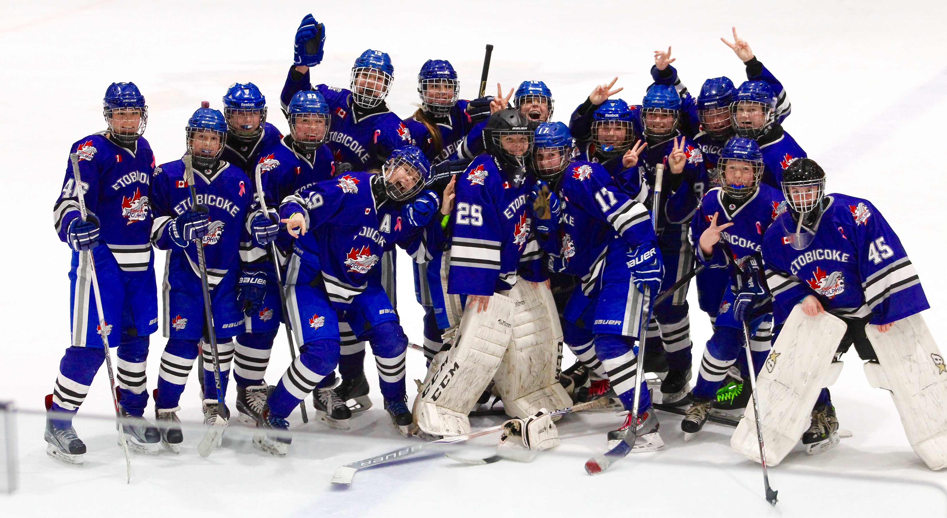 Bantam AA earns Silver at Whitby Tournament of Heroes