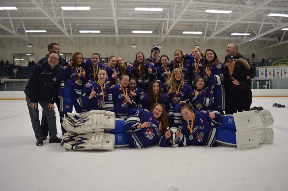Midget A Champions in Cambridge Tournament