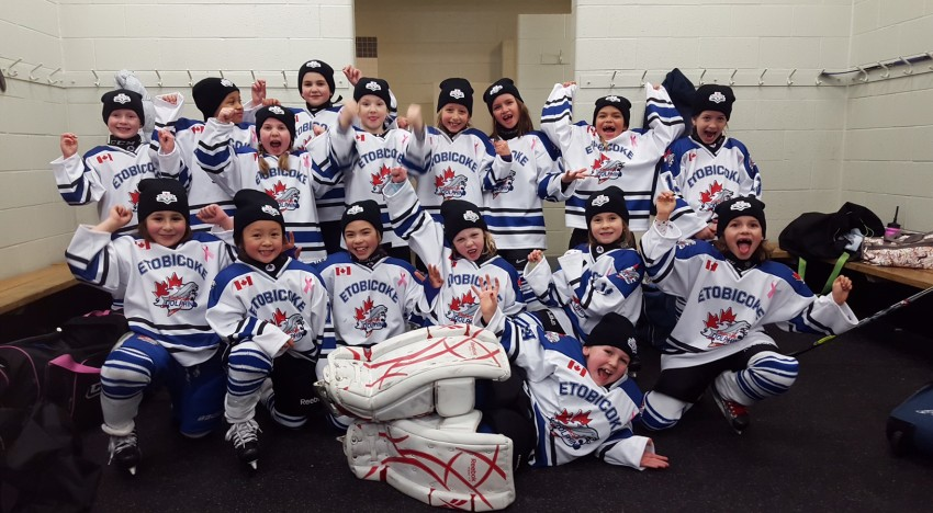 Novice Teddy Bears first win in Guelph Tournament