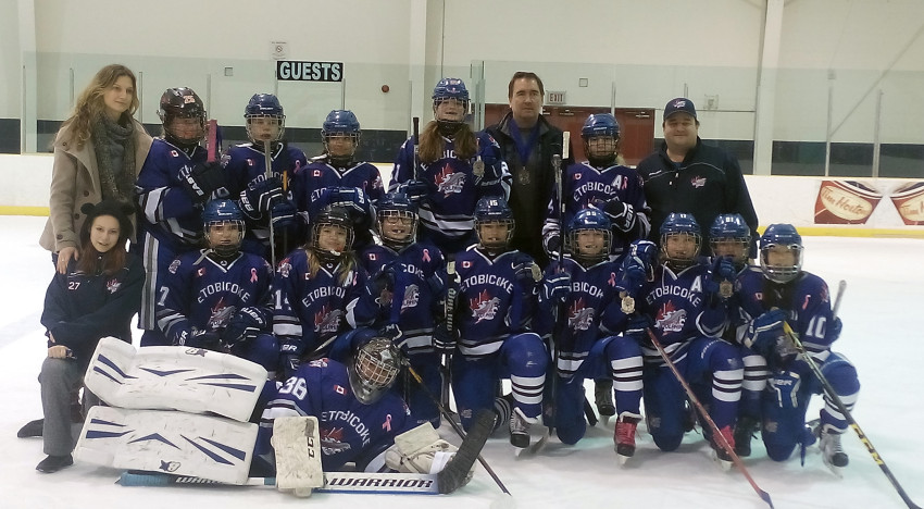 PeeWee A take Silver at Belleville Bearcats New Years Classic