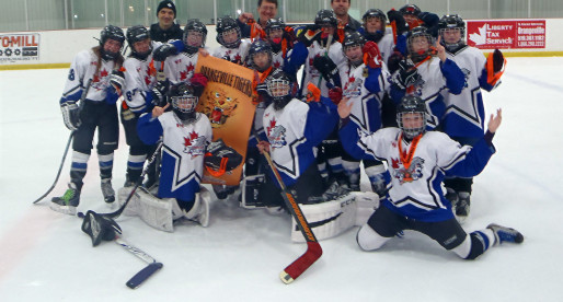 PeeWee DS Team # 1 wins Gold at the Orangeville DS Winter Classic