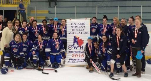 Intermediate A win Silver at Provincials