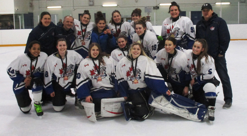Midget DS win Bronze at Leaside Madness 2016