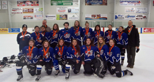 Bantam DS Win Silver at the Orangeville Tournament 2016