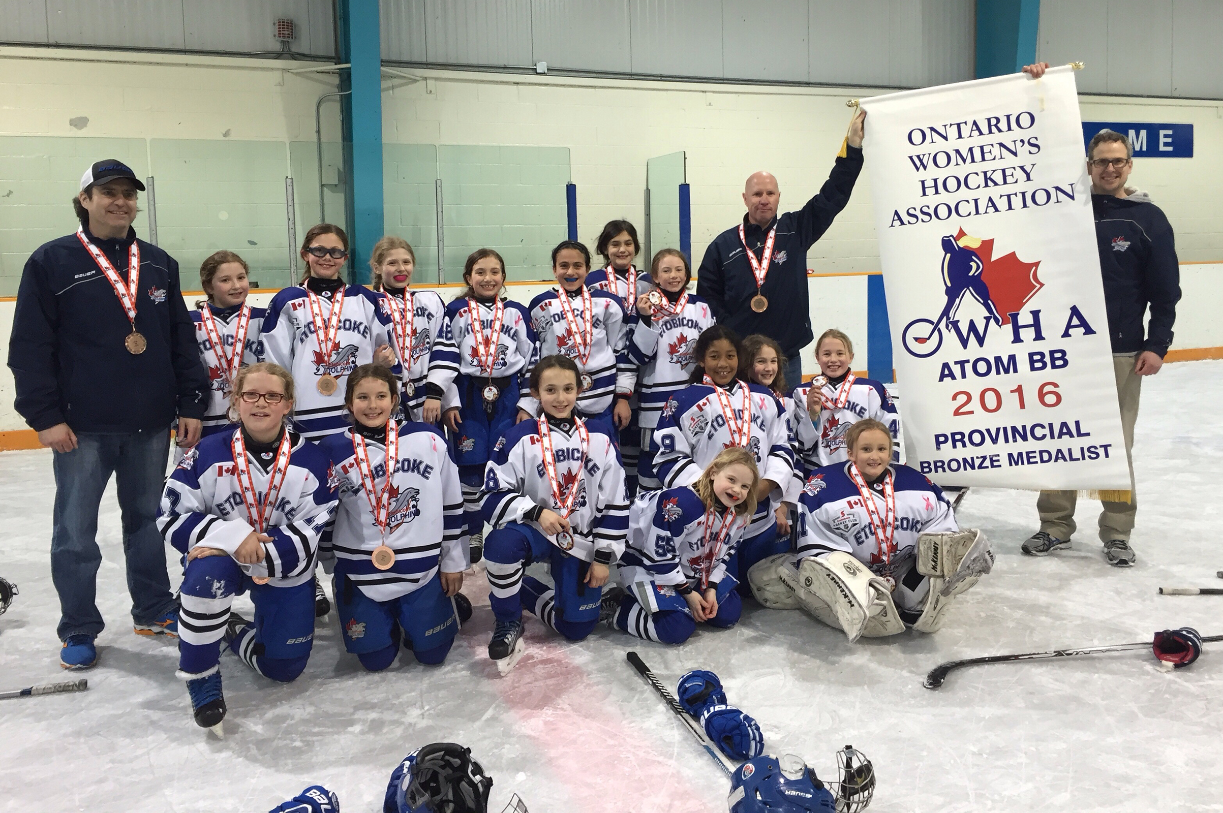 Atom BB Dolphins Win Provincial Bronze