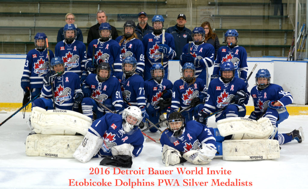 Pwa S Win Silver At The 2016 Detroit Bauer Invite Etobicoke Dolphins