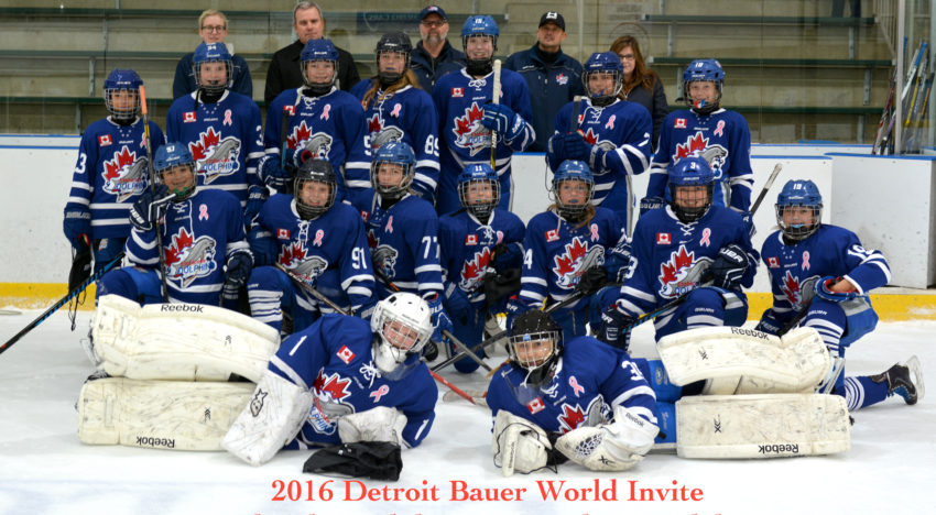 PWA's Win Silver at the 2016 Detroit Bauer Invite