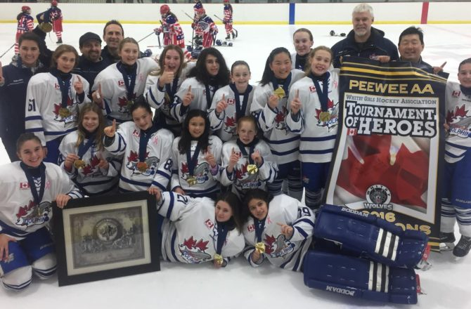PWAA win GOLD at Whitby Tournament