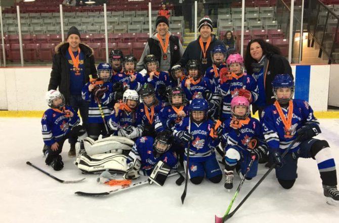 Novice DS wins Bronze in the Orangeville Winter Classic
