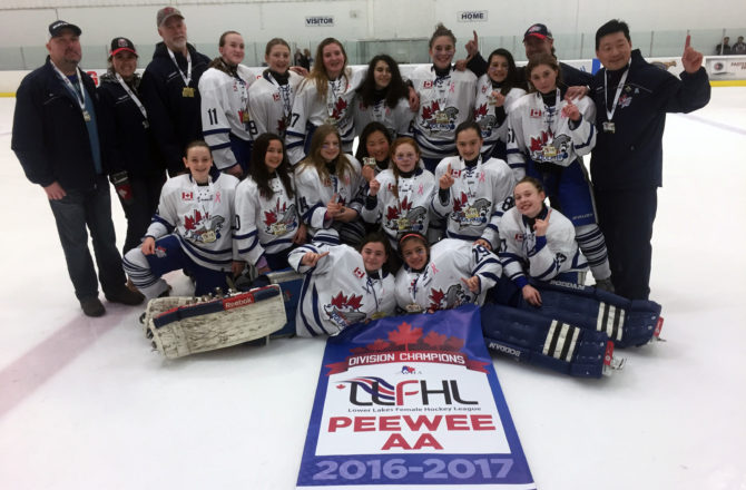 Dolphins Peewee AA's Win Lower Lakes Championship Weekend Gold