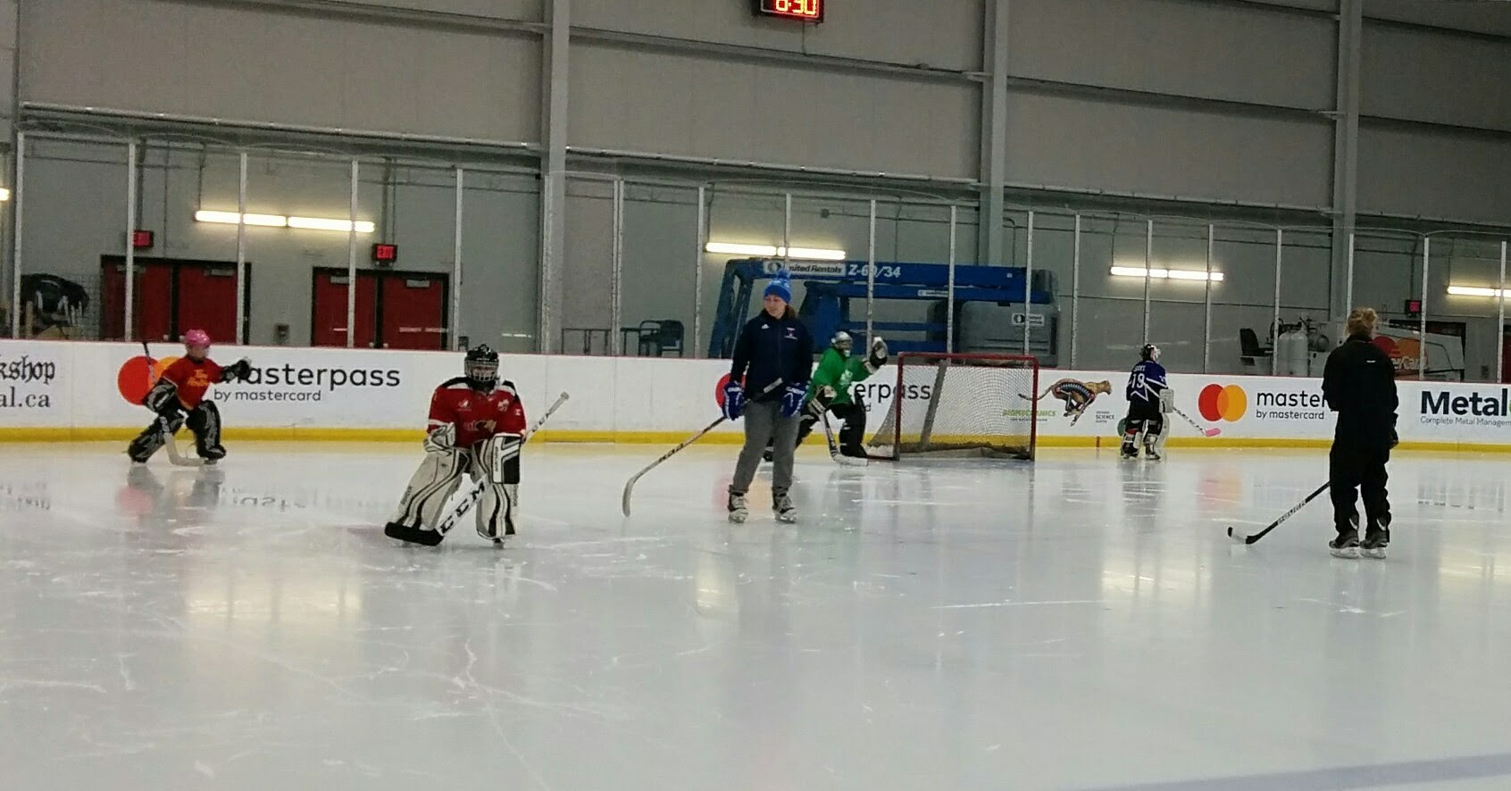 Monday Night Goalie Clinics