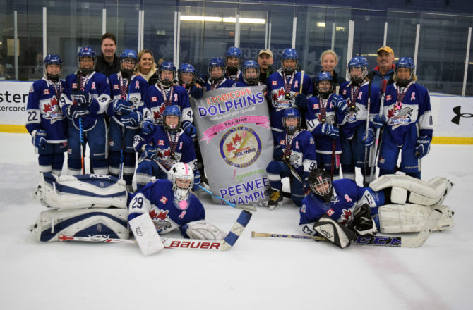 Peewee A are 2017 PTR Champs
