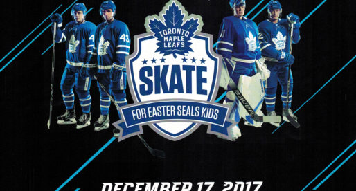 Skate with the Maple Leafs in Support of Easter Seals