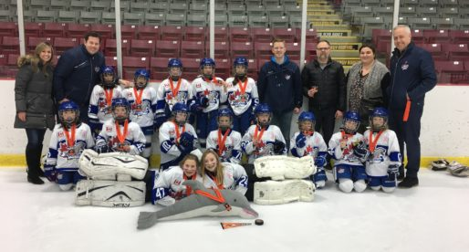 Novice B wins Silver at the 2018 Orangeville Sweetheart Tournament.