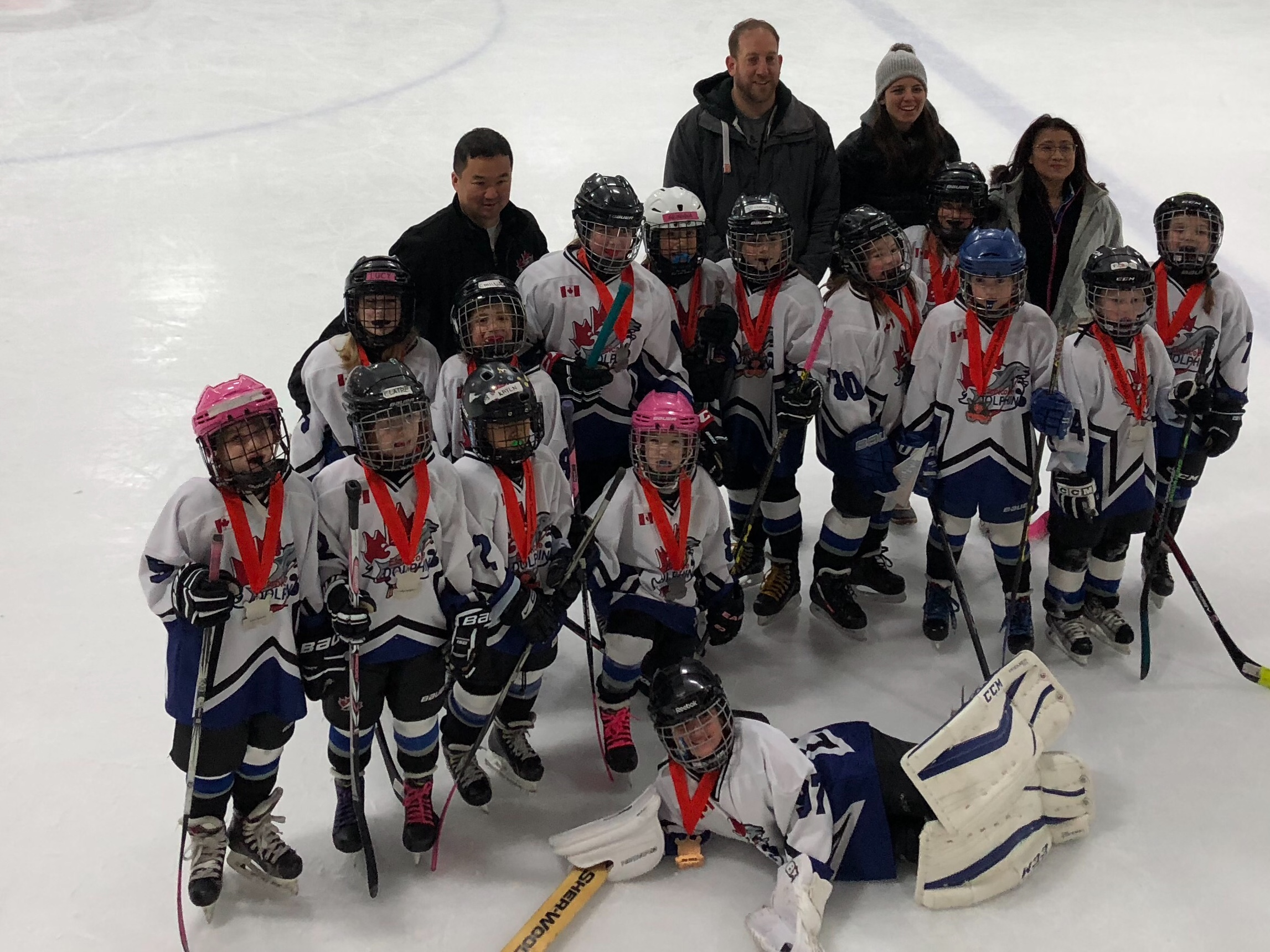 Novice DS win Silver at the 2018 Orangeville Winter Classic