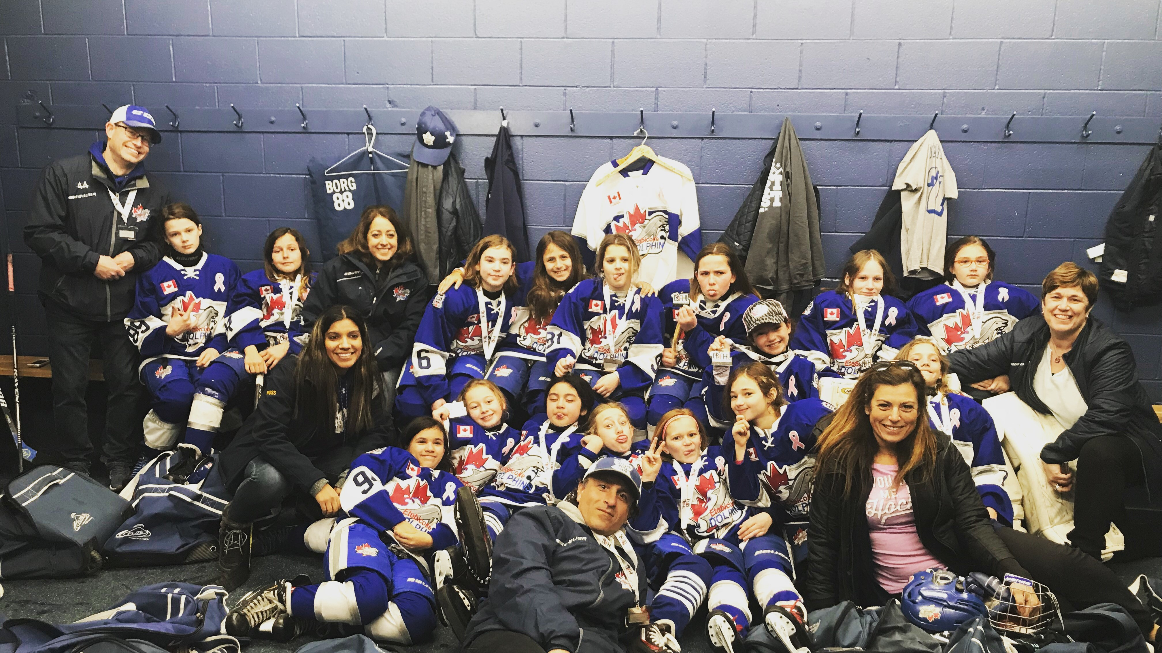 Atom AA Win Silver at the LLFHL Championship