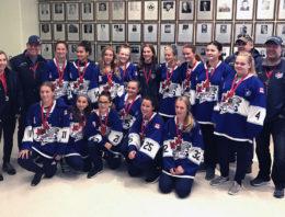 Bantam B will Silver at the 2018 Niagara Rapids Tournament