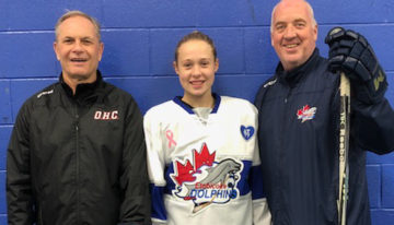 Mckenna Van Gelder (Etobicoke Dolphins BAA) commits to Cornell University for 2022-2023