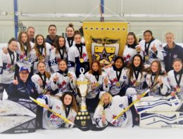 Bantam BB Champions of the 2018 Waterloo Ravens Fall Challenge Cup Inbox