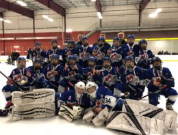 PeeWee BB win Silver at the 2018 St Catherines Jr Badgers Tournament