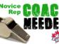 Novice Rep Coach Needed
