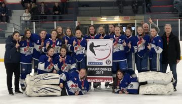 BAA wins Tournoi Hockey Feminin De Quebec