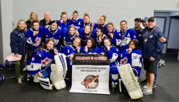 Midget BB win Gold at the Caledon 2019 Place to B Tournament