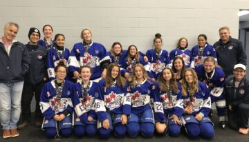 Bantam B win Silver at the Place to B Tournament