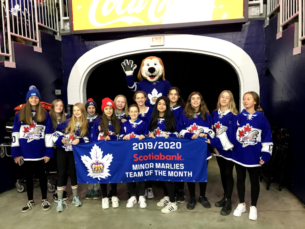 PeeWee AA - Marlies Team of the Month