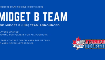 Second Midget B (u18) Team Players Wanted