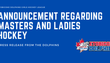Announcement Regarding Masters and Ladies Hockey