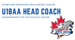 U18 AA Head Coaching Announcement